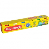 "«Игровое тесто ""Play-Dough"" 6х100гр. 6цветов микс»"