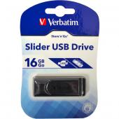 «Купить «Флешка USB 2.0 16Gb Verbatim Store'n'go Slider Black» в магазине color-it»