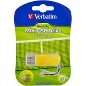 «Купить «Флешка USB 2.0 8Gb Verbatim Store'n'go MINI TENNIS» в магазине color-it»