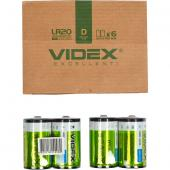 «Батарейка Videx LR2O/D 2pcs SHRINK»