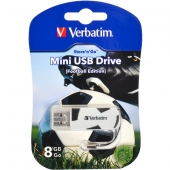 «Купить «Флешка USB 2.0 8  Gb Verbatim Store'n'go MINI FOOTBAL» в магазине color-it»