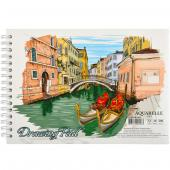 "«Альбом А5 ""COLOR KRAFT"" 20 листов, 200г/м² спираль»"
