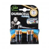 «Батарейка Duracell Turbo LR-03 ААА по 4 штуки mini»