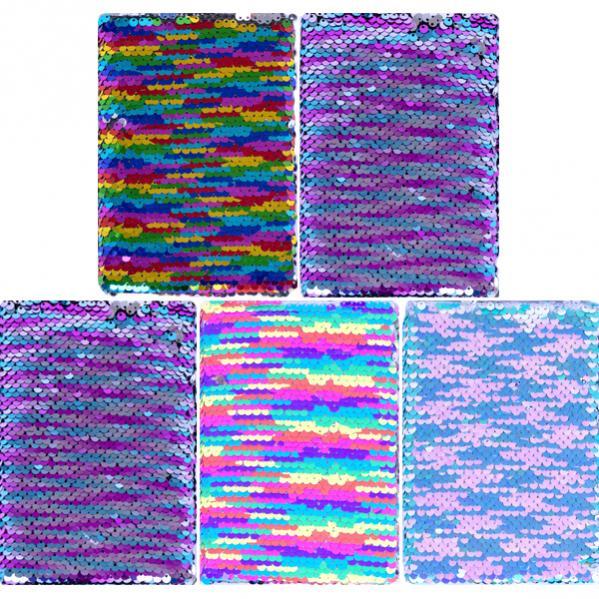 Блокнот с пайетками 15*10,5см твердый переплет, клетка 4-96 - купить по выгодным ценам в Украине, заказать Блокноты Китай канцтовары оптом для офиса в интернет магазине Color-it.