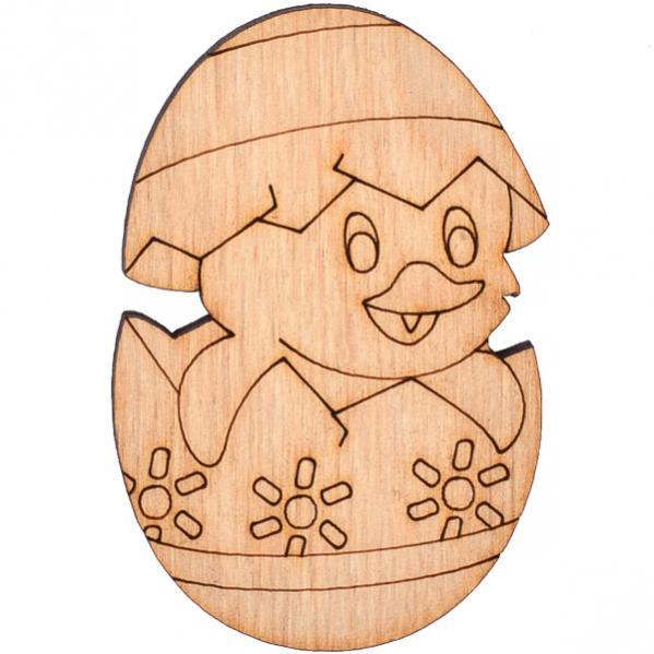 """Раскраска из дерева """"Пасхальный цыпленок"""" - купить по ..."""